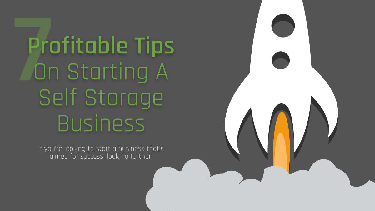 7 Tips Self-storage